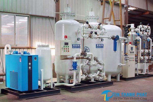 hệ thống máy tạo khí nito thực tế