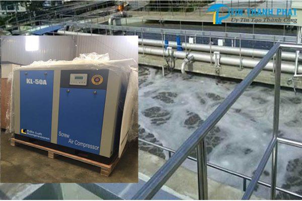 Ứng dụng máy nén khí trong ngành xử lý nước thải