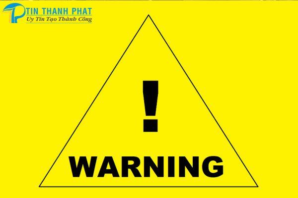 Lắp Đặt Máy Nén Khí An Toàn Và Hiệu Quả-bảng biển cảnh báo