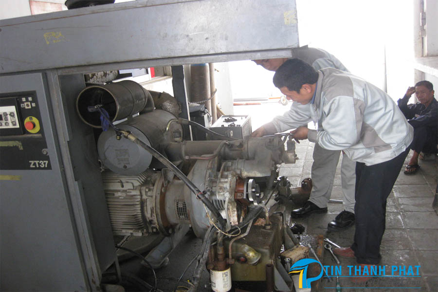 lịch bảo dưỡng máy nén khí trục vít định kỳ