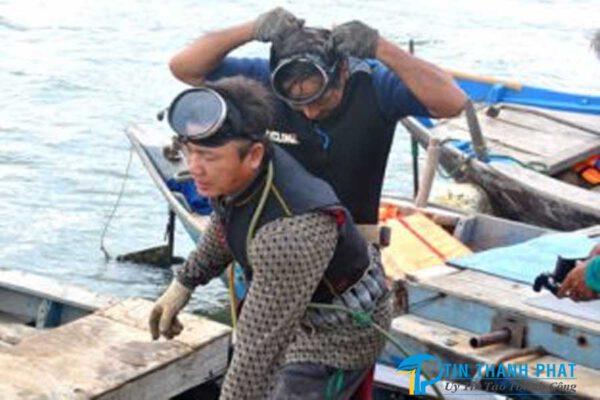 máy nén khí chất lượng hỗ trợ ngư dân lặn biển