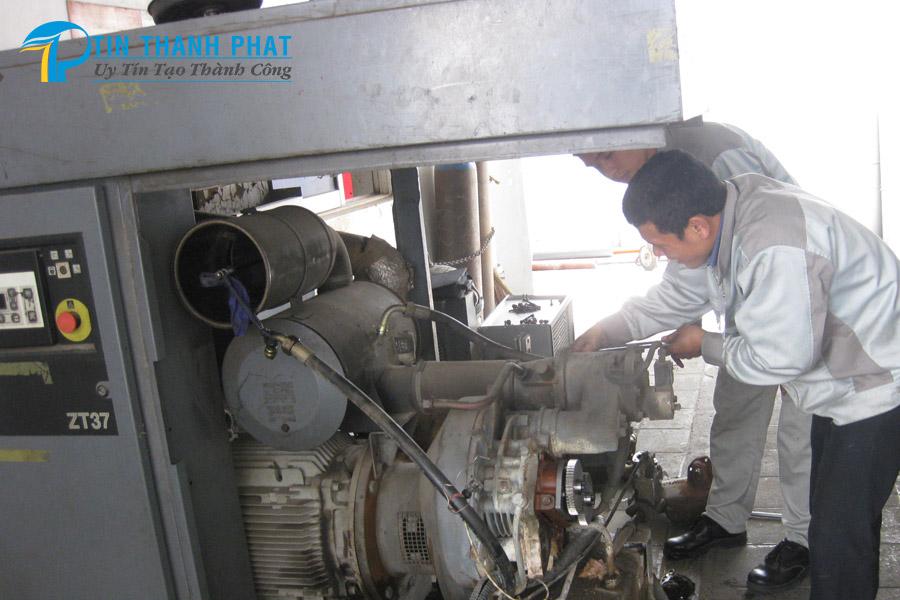 bảo dưỡng máy nén khí ngưng hoạt động