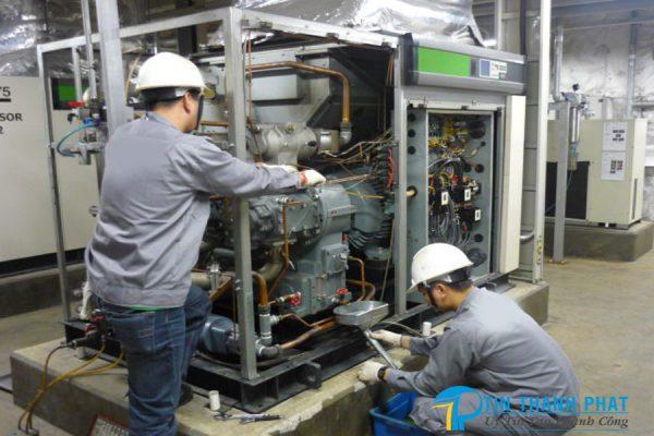 Cần có lịch bảo dưỡng định kỳ cho máy nén khí
