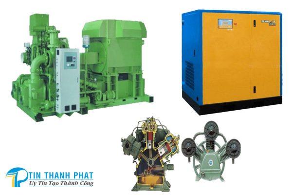 các loại máy nén khí phổ biến