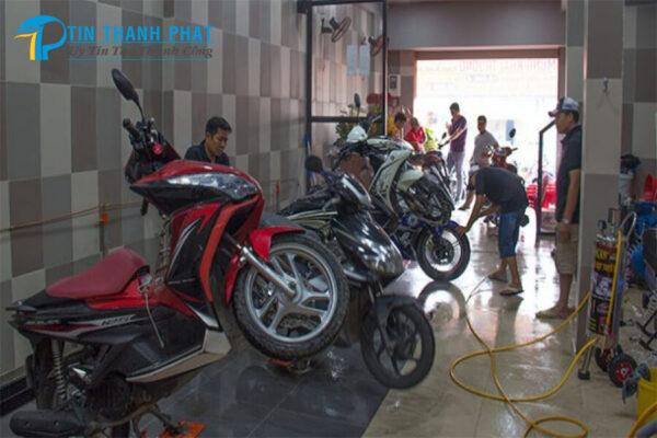 thông số máy nén khí phù hợp cho tiệm rửa xe máy