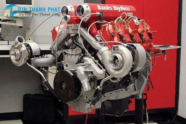động cơ tăng áp với nguyên lý máy nén khí