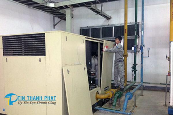 bảo dưỡng thường xuyên để máy nén khí hoạt động hiệu quả