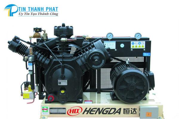 máy nén khí cao áp hengda phối hợp biến tần tiết kiệm điện