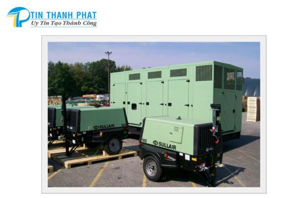 máy nén khí cao cấp Sullair tiết kiệm điện năng