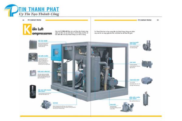 máy nén khí cao cấp KolnLuft tiết kiệm điện năng