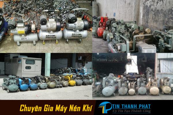 máy nén khí và bình nén khí bán đại trà