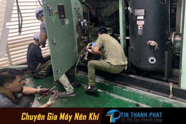 sửa chữa máy nén khí hỏng do nhiệt độ