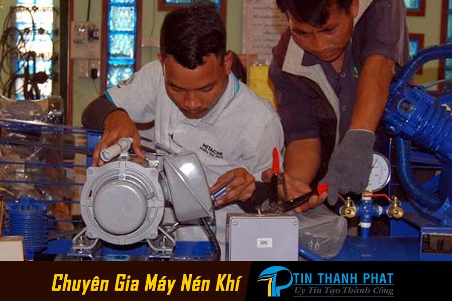 hướng dẫn sửa máy nén khí tại nhà