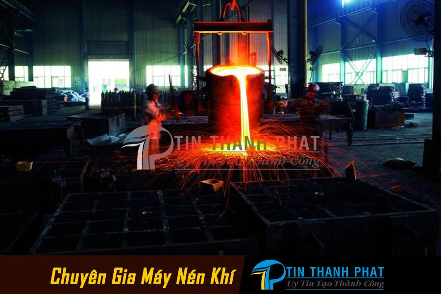 Ứng dụng khí ni-tơ sản xuất thép không gỉ
