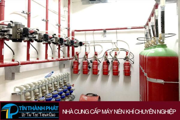hệ thống chữa cháy khí ni tơ