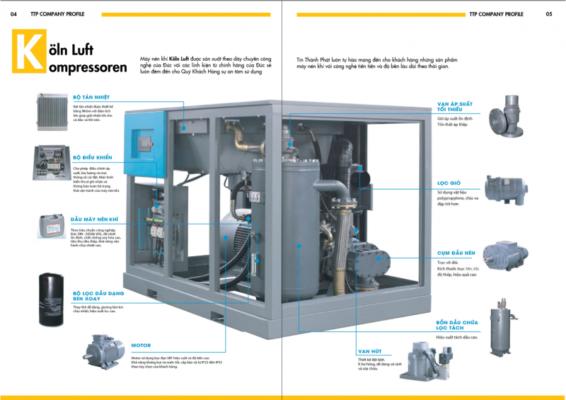 Phân phối máy nén khí chất lượng cao Thủ Đức